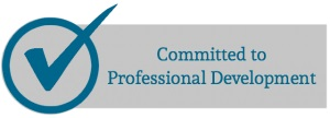 committed to professional development logo